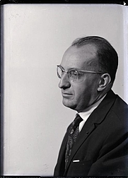 Author photo. Portrait by Man Ray