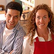 Author photo. Jeff Hertzberg (left)