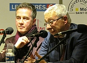 """Author photo. Christian Soleil and Michel Thiollière on Radio Fourvière, 2012 By C.soleil - Own work, CC BY-SA 3.0, <a href=""""//commons.wikimedia.org/w/index.php?curid=25714735"""" rel=""""nofollow"""" target=""""_top"""">https://commons.wikimedia.org/w/index.php?curid=25714735</a>"""