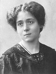 Author photo. Bertha Badt-Strauss