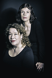 Author photo. Eva Monté, the writersname of the two sisters Alexandra & Victoria Nagelkerke - Publisher photo