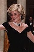 Author photo. Princess Diana