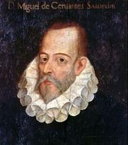 Author photo. Portrait of Miguel de Cervantes Saavedra by Juan de Jáuregui.<br> Via <a href=&quot;http://en.wikipedia.org/wiki/Image:Cervates_jauregui.jpg&quot;>Wikipedia</a>