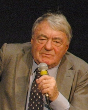 Author photo. Claude Lanzmann