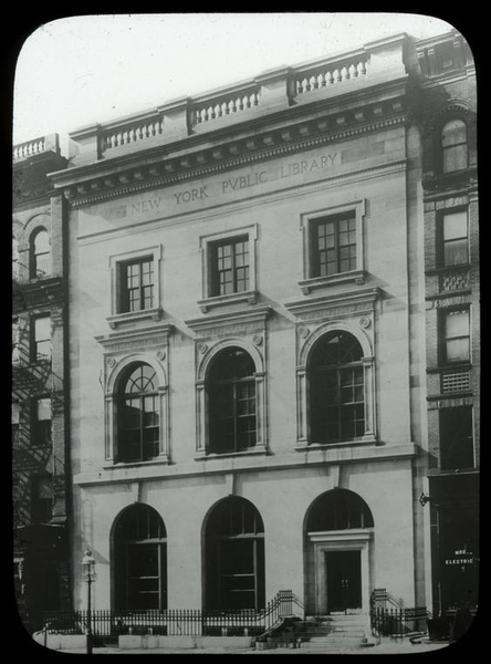 New York Public Library - St  Agnes Branch in New York, NY