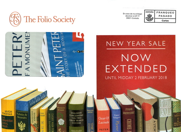 New Year Sale 2019 | Folio Society devotees | LibraryThing