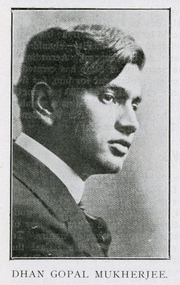 Author photo. <a href=&quot;https://en.wikipedia.org/wiki/Dhan_Gopal_Mukerji&quot; rel=&quot;nofollow&quot; target=&quot;_top&quot;>https://en.wikipedia.org/wiki/Dhan_Gopal_Mukerji</a>