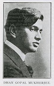 "Author photo. <a href=""https://en.wikipedia.org/wiki/Dhan_Gopal_Mukerji"" rel=""nofollow"" target=""_top"">https://en.wikipedia.org/wiki/Dhan_Gopal_Mukerji</a>"