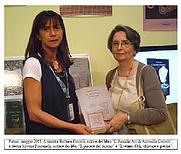Author photo. Barbara Cantelli (on the left)