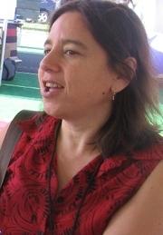Author photo. West Hollywood Book Fair 2009