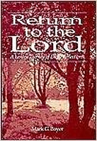 Return to the Lord: A Lenten Journey of…