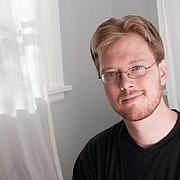 Author photo. Erik Scott de Bie