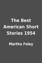 The Best American Short Stories 1954 by…