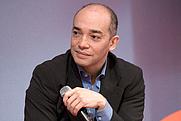 Author photo. Wikipedia, Fabrice d'Almeida au Salon du livre de Paris lors du débat Les chemins de l'enfer