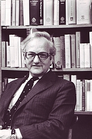Author photo. R.W. Burchfield in June 1972 [credit: OED Archives]