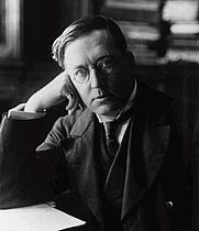 Author photo. M. R. James, circa 1900. Wikipedia.