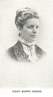 Author photo. Mary Elizabeth Mapes Dodge (1831-1905) Buffalo Electrotype and Engraving Co., Buffalo, N.Y.