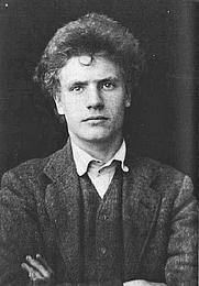Author photo. Austin Osman Spare, aged 16, 1904