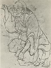 Author photo. Hokusai (Selbstbildnis)