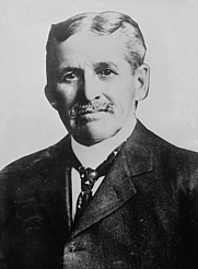 Author photo. Robert J. Burdette, between 1910 and 1915 [credit: Library of Congress, Prints and Photographs Division]
