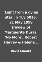 'Light from a dying star' in TLS 5016, 21…