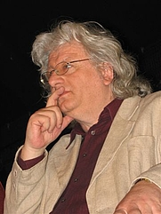 Author photo. Peter Esterházy, 2007. Photo by Mariusz Kubik.