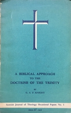 A biblical approach to the doctrine of the…