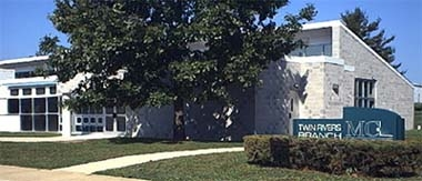 Mercer County Library System - Twin Rivers Branch in East