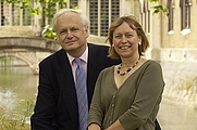 Author photo. Professor Chris Dobson and Dr Mary Dobson