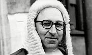 Author photo. Louis Blom-Cooper in 1970.