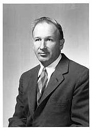 Author photo. Edward Lorenz, 1956.