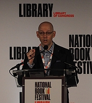 """Author photo. reading at the National Book Festival, Washington, D.C. By slowking4 - Own work, GFDL 1.2, <a href=""""https://commons.wikimedia.org/w/index.php?curid=72267021"""" rel=""""nofollow"""" target=""""_top"""">https://commons.wikimedia.org/w/index.php?curid=72267021</a>"""