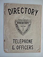 Directory Deshon General Hospital, Telephone…