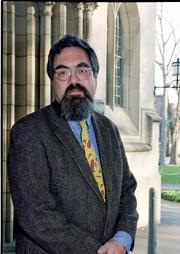 Author photo. Prof. Anthony Thomas Grafton. Photo by Denise Applewhite, 2000 (photo courtesy of Princeton University)