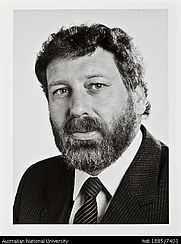 Author photo. Desmond Ball [credit: Australian National University]