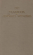 1971 Yearbook of Jehovah's Witnesses by…