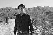Author photo. Portrait of Sherwin Bitsui by Jackie Alpers