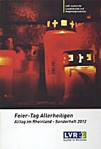 Alltag im Rheinland Sonderheft 2012 by…