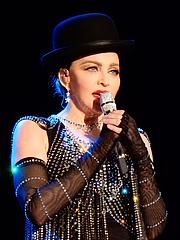 Author photo. Madonna (2016)