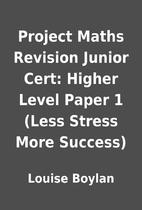 Project Maths Revision Junior Cert: Higher…