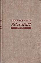 Kindheit im Exil by Šemaryāhû Lewîn