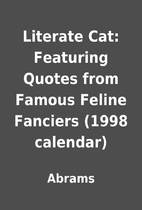 Literate Cat: Featuring Quotes from Famous…