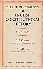 Select Documents of English Constitutional…