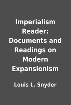 Imperialism Reader: Documents and Readings…