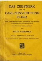 Das Zeisswerk und die Carl-Zeiss-Stiftung in…