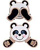 Peek-a-boo Baby Panda