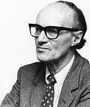 Author photo. Tibor Scitovsky [credit: Library of the London School of Economics and Political Science]