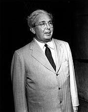 Author photo. Physicist Leo Szilard circa 1960. DOE Digital Archive Image 2017774.