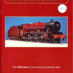 LMS Galatea 5699 The Ultimate in Live Steam Locomotive Kits by