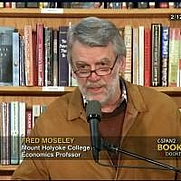 Author photo. Fred Moseley on C-SPAN, 2013
